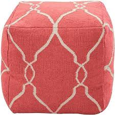 Coral Ottoman Pin By Brenda Garrett On Coral Pinterest Coffee Tables Coral