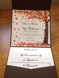 wedding invite ideas fall wedding invitations cloveranddot
