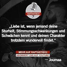 spr che zur beziehung joumaa rapper rap quote zitate sprüche beziehung freund