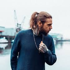 mature pony tail hairstyles mens ponytail hairstyles