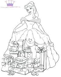 coloring pages belle princess belle coloring pages free