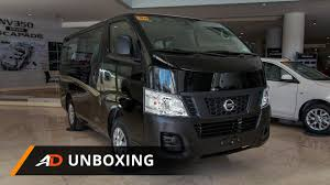 nissan urvan 15 seater nissan nv350 urvan escapade super elite autodeal unboxing youtube