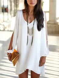 white summer dress open arm white summer dress lyfie