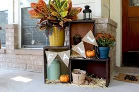 Fall Patio Fall Colors Decorating Ideas For Fall Yards