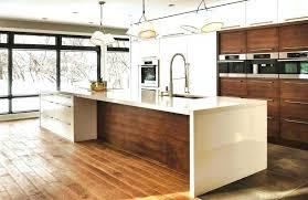cuisine contemporaine blanche et bois cuisine contemporaine design cuisine contemporaine design bois