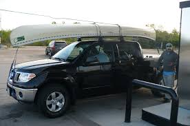nissan frontier ladder rack hauling a canoe with the frontier page 3 nissan frontier forum