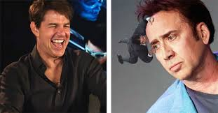 Tom Cruise Meme - watch tom cruise hilariously laugh at tomcruiseclinging memes