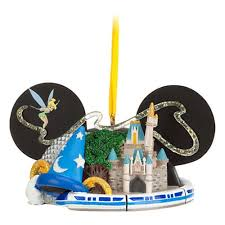 your wdw store disney ear hat ornament attractions 4 parks