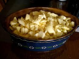 cocotte terre cuite pommes au four ma passion du verger
