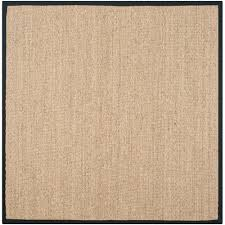 safavieh natural fiber marble beige 6 ft x 6 ft square area rug