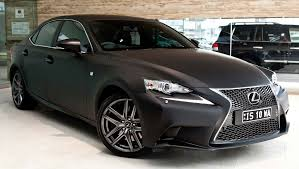 black lexus 2014 lexus is 350 f sport in matte black auto moto japan bullet
