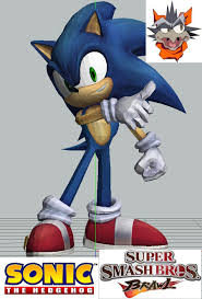 Sonic The Hedgehog Papercraft - paper craft ssbb sonic paper model