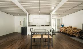container home interior joseph dupuis shipping container home interior inhabitat green