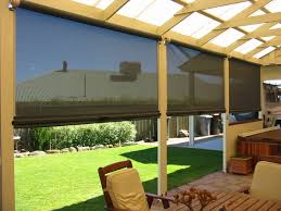 Roll Up Outdoor Blinds Patio Ideas Modern Roll Up Patio Blinds As An Effective Curtain