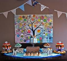 owl decor for birthday party davinci pictures