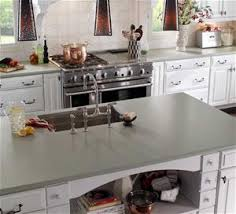 Solid Surface Kitchen Countertops by Quartz And Granite Countertops Comparison Countertop Buying