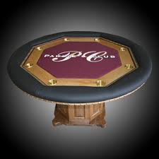 custom poker tables by regal poker tables
