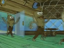 Rev Up Those Fryers Meme - gif spongebob spongebob squarepants my leg fred the fish rev up