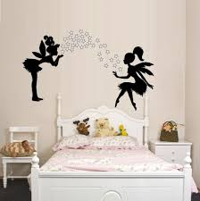 free shipping beautiful fairies and pixie star dust 3 pcs wall