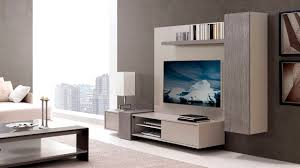 Tv Wall Furniture Contemporary Tv Wall Unit Lacquered Wood Mijo By Planum