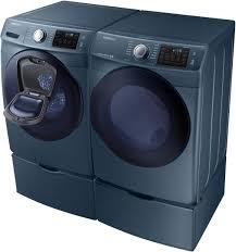 Samsung Blue Washer And Dryer Pedestal Samsung Wf45k6200az 27 Inch 4 5 Cu Ft Front Load Washer In