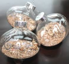 sand ornaments and diy tutorial completely coastal