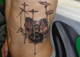 simple drum tattoos golfian com