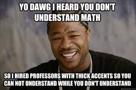 Meme Math - when math meme then divided by zero for fum and interesting
