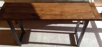 Long Dining Room Tables For Sale Dining Table Long Narrow Love The Mixture Of Wood Brick And