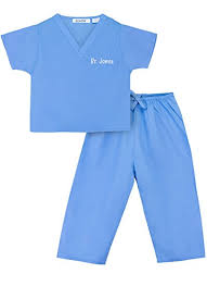 Doctor Costume Halloween Amazon Personalized Scrubs Baby Children Clothing