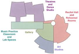 Dance Studio Floor Plan Bucksbaum Center For The Arts Grinnell College