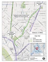 Dallas Area Map Major Linear Trails Dallas Parks Tx Official Website