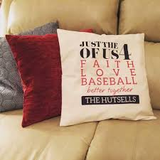 Customized Cushion Covers Just Us Pillow 18x18 Www Mythirtyone Com Sarahproffitt31 31
