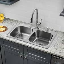 Double Sinks Kitchen by Kohler Kitchen Sinks Kitchen Stainless Steel Kitchen Sink