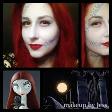 Nightmare Before Christmas Halloween Makeup by Simply Stunning Artistry Make Up U0026 Hair By Jess