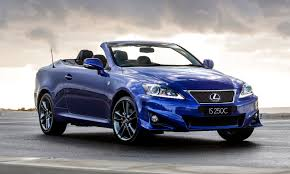 lexus is blue lexus is 250c f sport performance model for first time