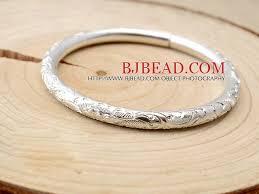 sterling silver bracelet designs images Classic design handmade 999 sterling silver bangle bracelet with jpg