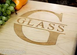 personalized cutting board name personalized engraved cutting board wedding gift
