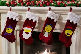 emoji christmas stockings ilovetocreate