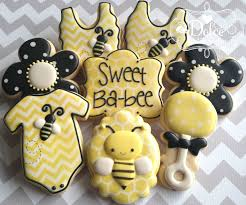 bumblebee baby shower bee bumble bee baby shower cookies