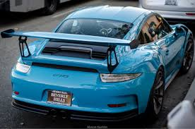 miami blue porsche gt3 rs miami blue gt3rs madwhips