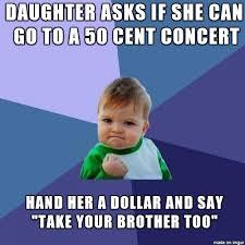 Joke Memes - dad joke skill maxed dad jokes success kid and meme