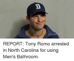 North Carolina Meme - memes report tony romo arrested in north carolina for using men s