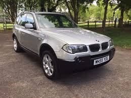 Bmw X3 Disel Bmw X3 2 0 Sport Diesel 2005 Fsh Panoramic Roof Fully Loaded