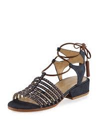 denim sandals neiman marcus