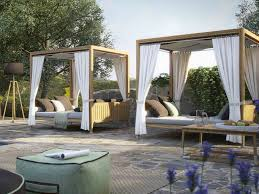 outdoor canopy bed stylish canopy beds that can make this summer the best one yet