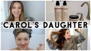 carol u0027s daughter rhassoul clay hair product review youtube