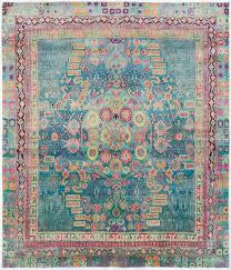 Aqua Silk Rugs Silk Ethos 5 U00270