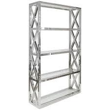 Steel Frame Bookcase Cabinets Shelves U0026 Bookcases Scenario Home