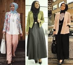 blazer wanita muslimah modern 20 contoh model blazer wanita muslimah modis dan modern terbaik